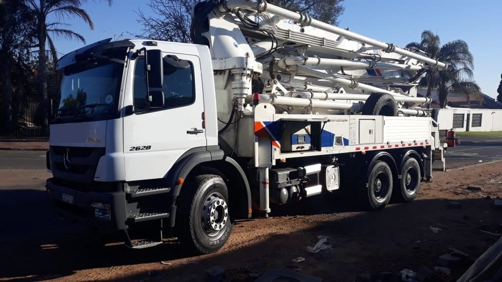 Used Equipment for Sale - E & G Concrete Pumps | Boom Pumps For Hire