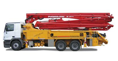 Boom Pumps For Hire E Amp G Concrete Pumps Boom Pumps