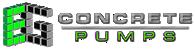 E & G Concrete Pumps | Boom Pumps For Hire, Stationary Pumps For Hire, Concrete Pumps For Sale Logo